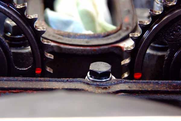 Twink cam valve job