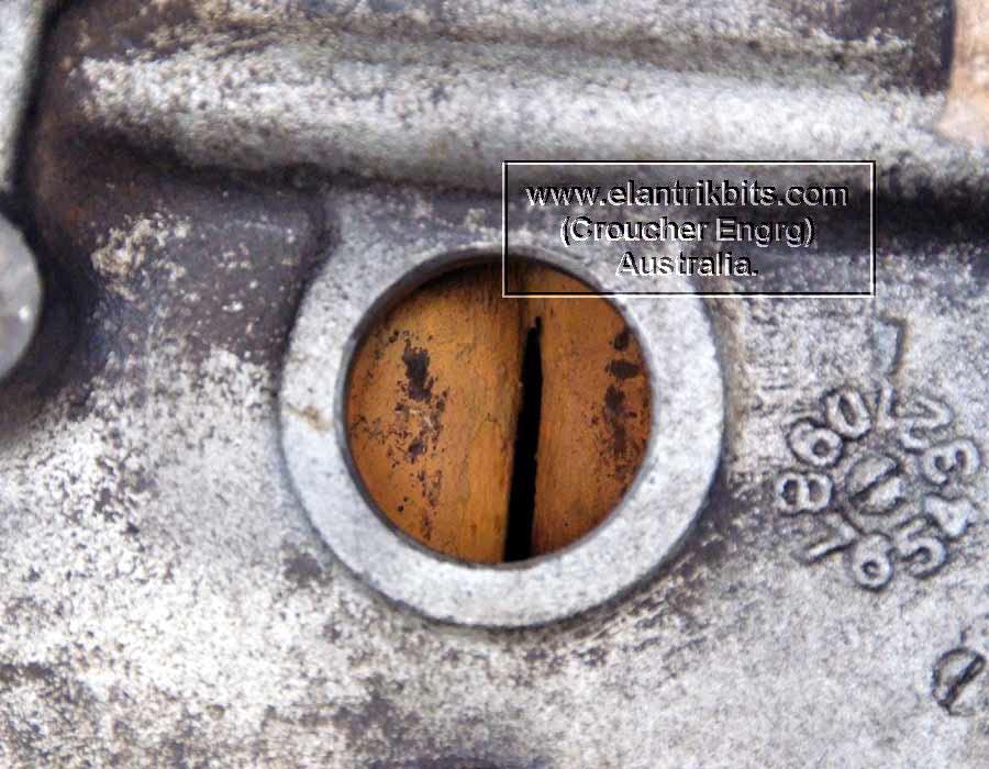 Engine Block De Rust In Molasses Bath  — Lotus-Élan-Resource